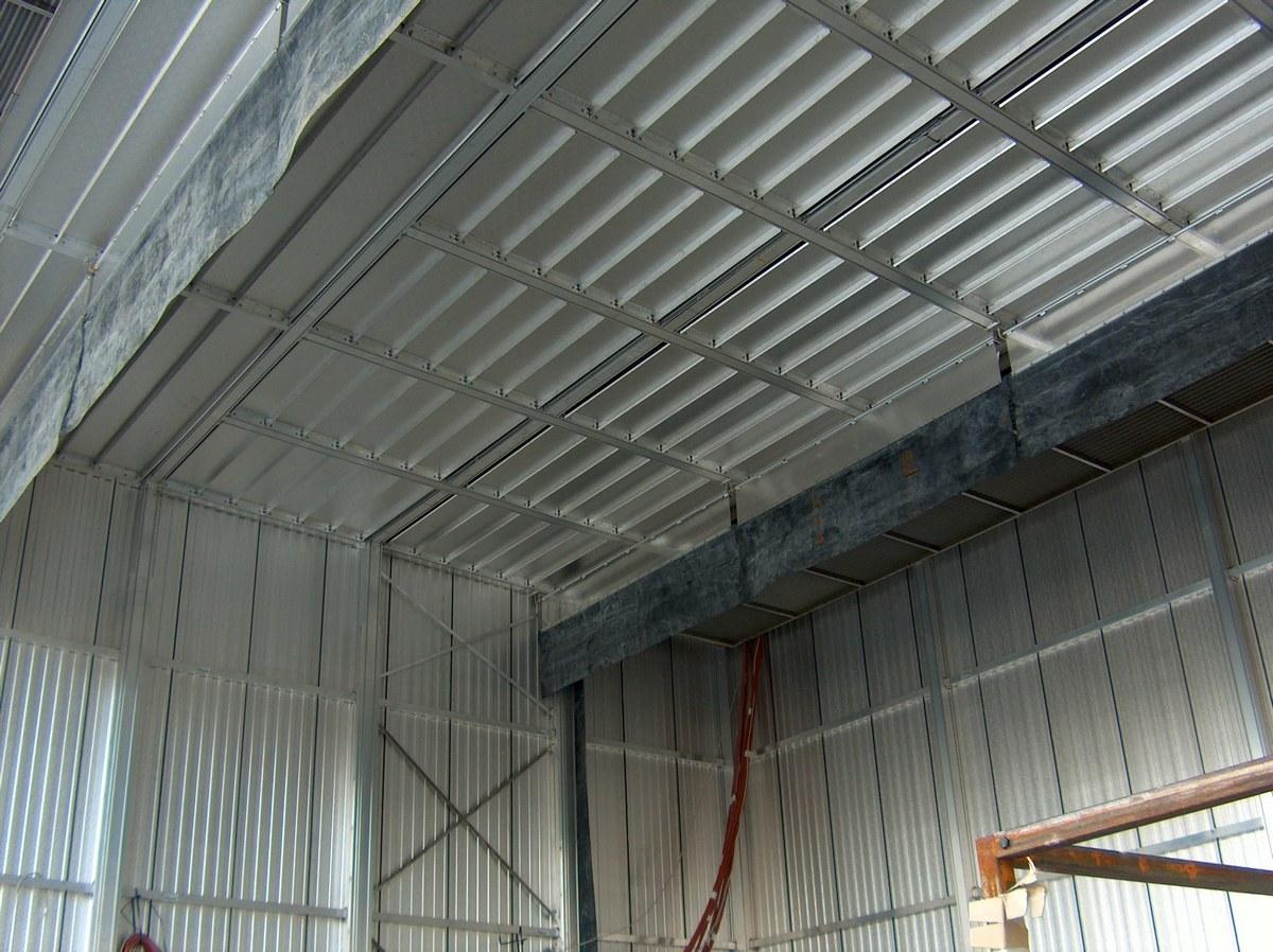 Потолок и дифлекторы
